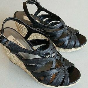 SIMPLY VERA WANG Wedge Sandals