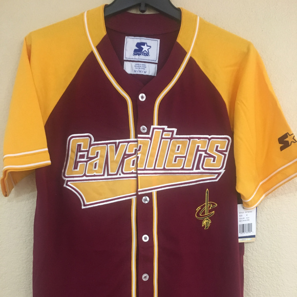 cleveland cavaliers baseball jersey