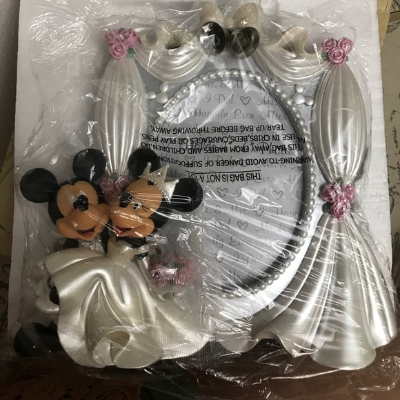 Disney Other | Brand New Mickey Minnie Mouse Wedding Frame | Poshmark