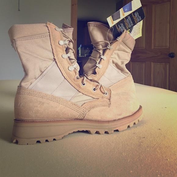2fba1277d9ba NEW Army Combat Boots Steel Toe