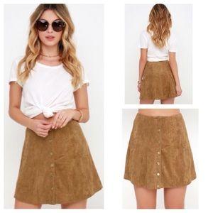 🎈SALE 🎈Sadie Camel Skirt