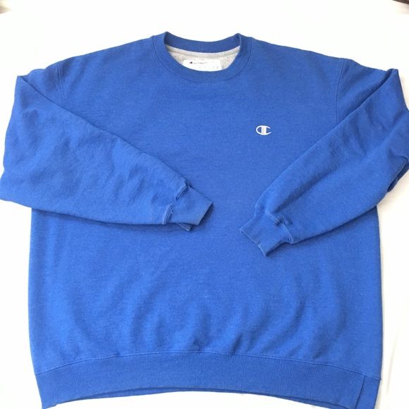 fc8ccd9f6c46 Champion Other - Champion Royal Blue Logo Crewneck Sweatshirt