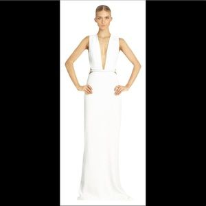 kaufmanfranco Dresses - KAUFMANFRANCO white optic gown
