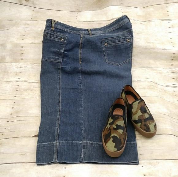 07c55d75480 Cato Denim - Plus Size Cato Wide Leg Capri Jeans Size 22W