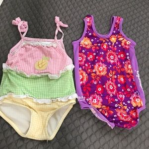 Other - 2 swim suit for little girl