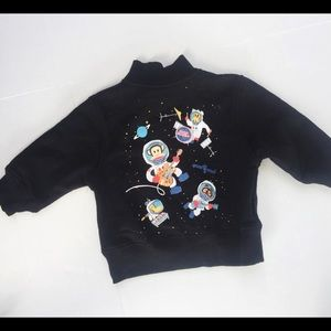Paul Frank for Target Space Zip Front Sweatshirt
