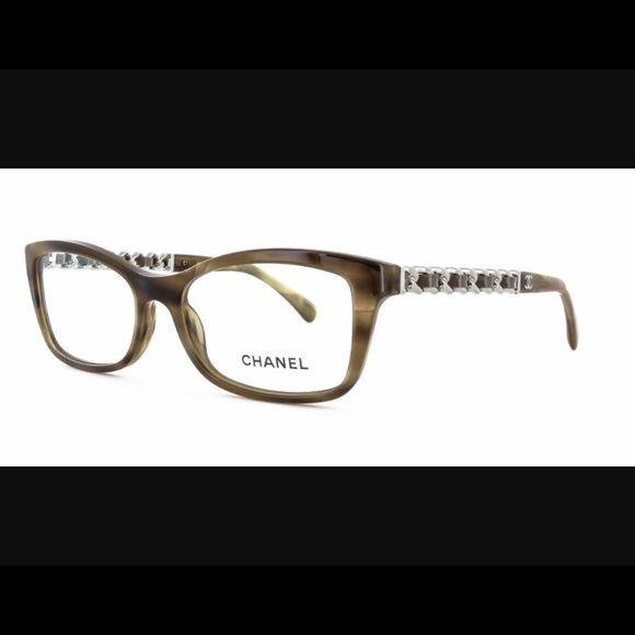 CHANEL Accessories | 3264q C1101 Eyeglass Frames With Case | Poshmark