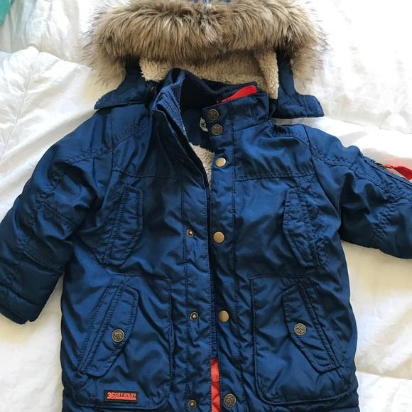 516818fb H&M Jackets & Coats | Hm Toddler Boys Winter Coat | Poshmark