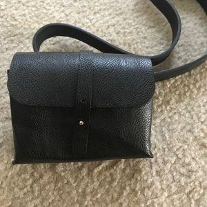 Black belt bag from Nasty Gal