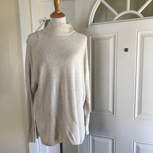 Sonoma cowlneck dolman sleeve poncho sweater