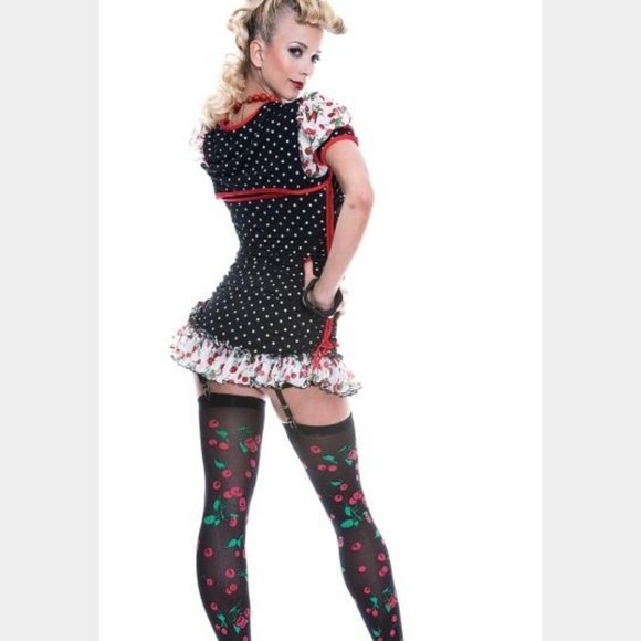 Plus Size Pinup Girl Costume