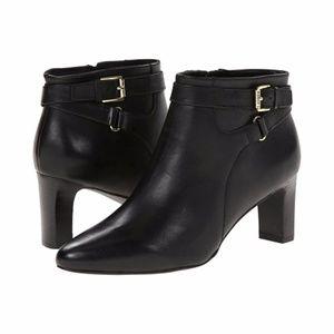 Ralph Lauren Black Nara Bootie NEW Ankle Boot 7.5B