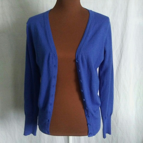 60% off Cotton On Sweaters - Cotton On royal blue cardigan sweater ...