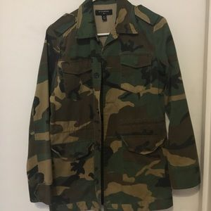 Military jacket from Urban Outfitters.