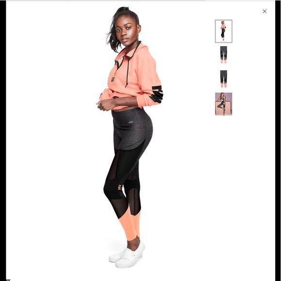 ef95b21388faec ❤️Pink Ultimate High Waist Bonded Mesh leggings ❤ . NWT. PINK Victoria's  Secret