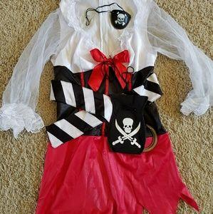 Womens Size small pirate costume