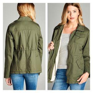 Jackets & Blazers - 100% Cotton Trending Military Style Utility Jacket