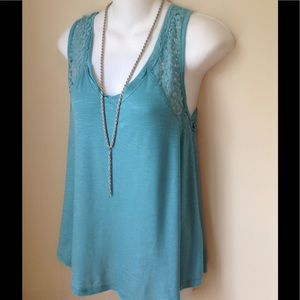 Free with $20 purchase NWT Teal  Swing Tank Top