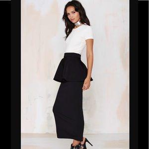 Rack 4️⃣Asilio Remember Sunday Peplum Skirt 💛