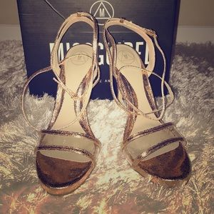 Gold Missguided Ankle Strap Beauties! 😍