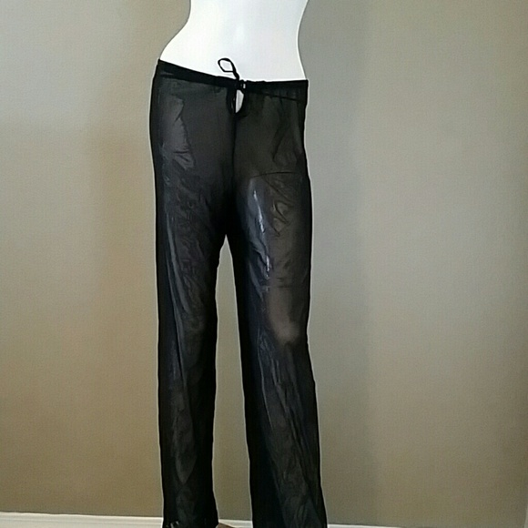 68e6e7da5d Venus black mesh see through cover up pants. M_5a26e9865c12f85c1e024698