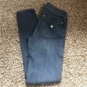 NWOT Hudson Jeans Gray Collin Skinny jeans! SZ 30!