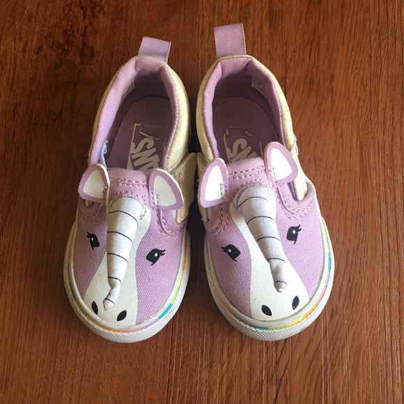 unicorn vans shoes size 4