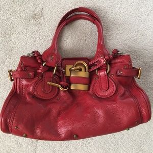 Authentic Chloe Paddington satchel. Like new!