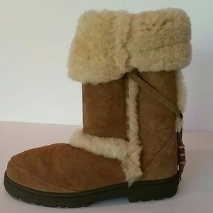 bd51fc0a1d1 RARE NEW w/ box UGG Nightfall shearling boot sz 8 NWT