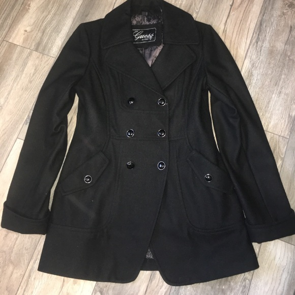 Guess Wool blend Peacoat