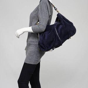 SALE!🔥JIMMY CHOO BLUE SUEDE & python bag