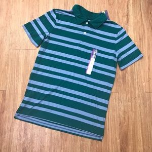 Cherokee Green Blue Polo Shirt NEW NWT Jersey 16