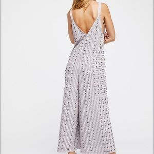 21c62714162 Free People Other - NWT Free People Grace Embellished Jumpsuit