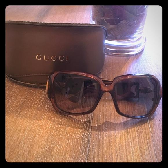 3efd234b32f81 Gucci Accessories - Gucci bamboo buckle sunglasses