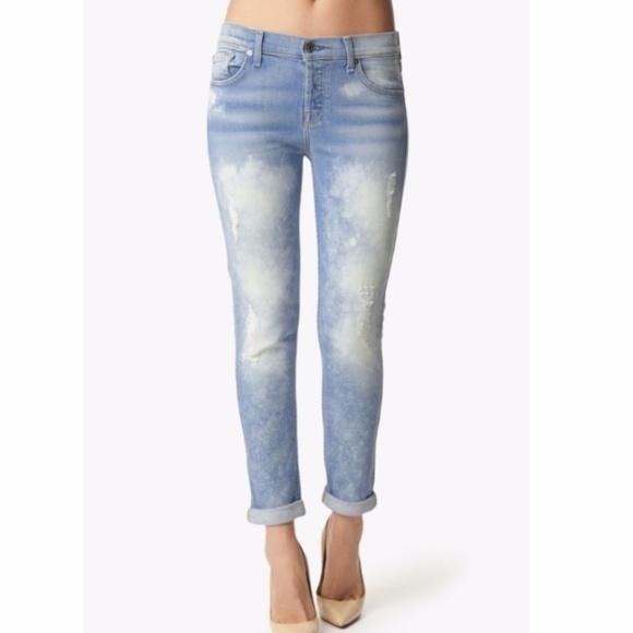 7 For All Mankind Denim - 7 For All Mankind Josefina boyfriend jeans