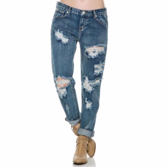One Teaspoon Denim - One Teaspoon awesome baggies ripped jeans