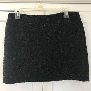 Festive Mini Skirt with Shimmery Detail