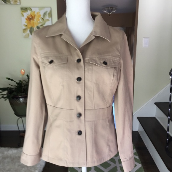 Liz Claiborne Jackets & Blazers - First Issue,A Liz Claiborne Co. jacket size small