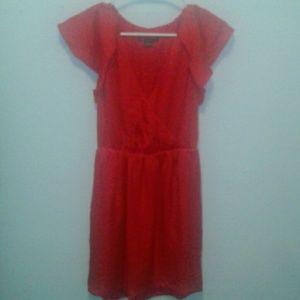 Armani Exchange women's red dress