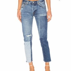 Levi's 501 ragged lands raw hem jeans 27x27
