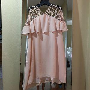 Endless Rose Ruffle Strappy Mini Dress