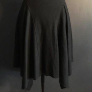 Helmet Lang Asymmetrical Skirt