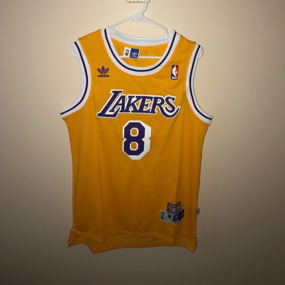 100% authentic 7dbcf 9dfa0 Lakers #8 Kobe Bryant Jersey - Hardwood Classics M