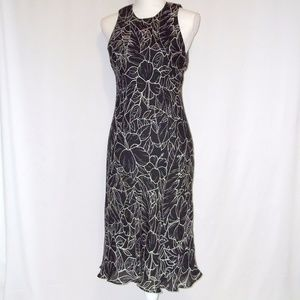 Ralph Lauren Floral Silk Dress Size M