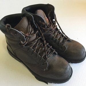 Brahma Brown Work Boots size 8 1/2