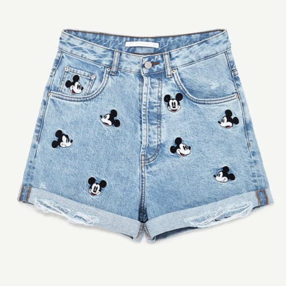 65ee82163a Zara Mickey Mouse Shorts - New with tags! NWT