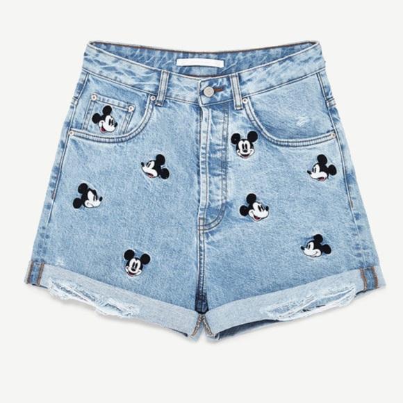 New Zara Mouse Mickey With Shorts TagsNwt OXTuPZki