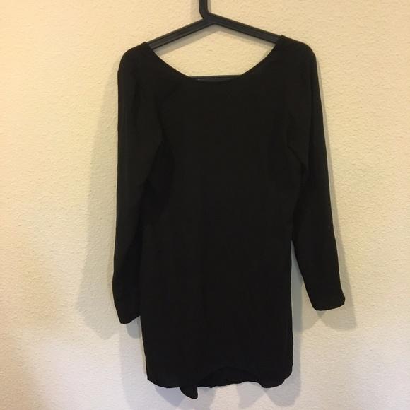 Tildon Dresses - Tildon black long sleeve dress