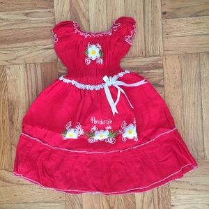 Free with bundle- Hand sewn dress for 2 year old