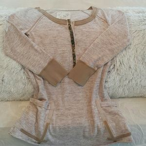 Free People shirt with pockets